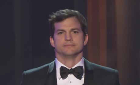Ashton Kutcher Gives Passionate Statement on Refugees at SAG Awards!