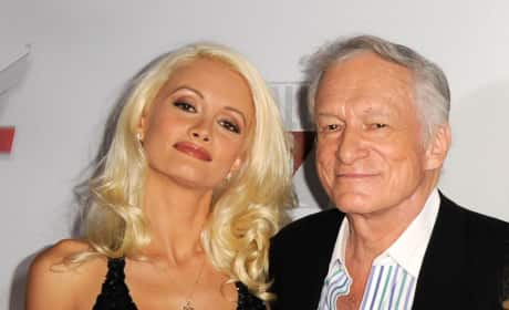 Holly and Hef Photo