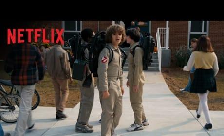 Stranger Things Season 2 Super Bowl Trailer