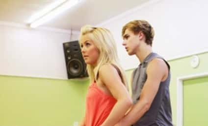Julianne Hough and Cody Linley Practice Art of Dancing, Seduction