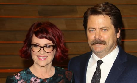 Megan Mulally and Nick Offerman Photo
