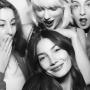 Taylor Swift, Lily Aldridge and members of Haim