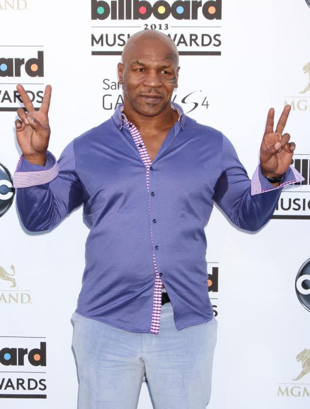 Mike Tyson at Billboard Music Awards