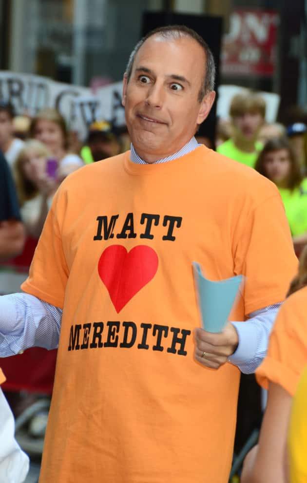 Matt Lauer Loves Meredith