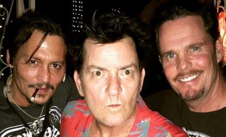 Depp, Sheen and Dillon