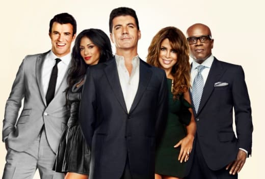 Original X Factor Panel