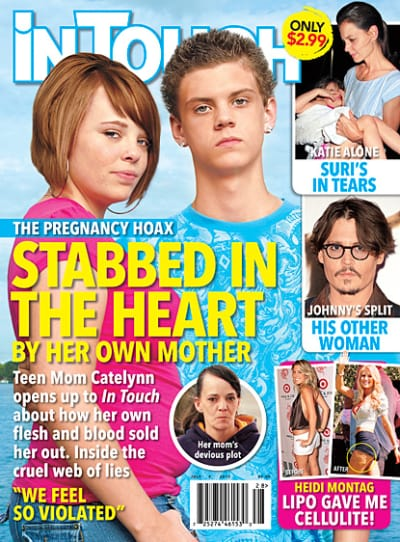Catelynn Lowell Pregnancy Hoax