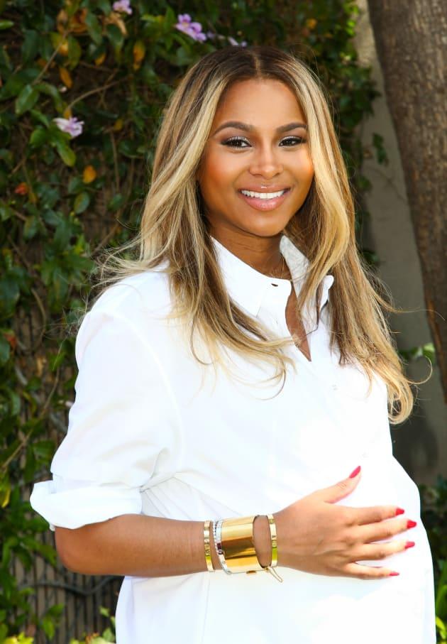 Pregnant Ciara