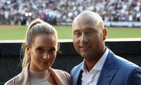 Hannah Davis and Derek Jeter Together