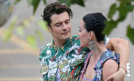 Katy Perry & Orlando Bloom: Totally a Couple, Show Major PDA in Hawaii!