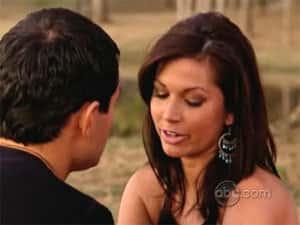 Jason and Melissa on The Bachelor