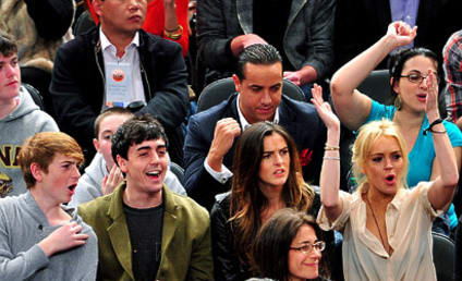 THG Caption Contest: Cheers For Lindsay Lohan!