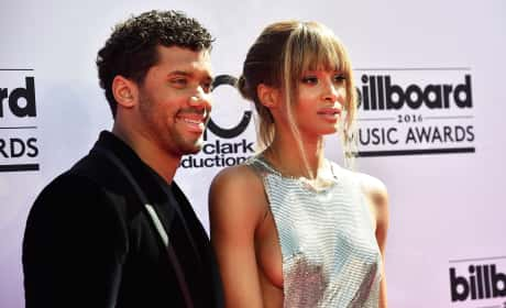 Russell Wilson and Ciara in Love