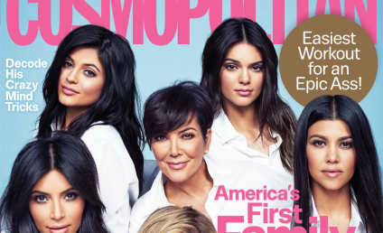 "The Kardashians Cover Cosmo, Are Apparently ""America's First Family"""