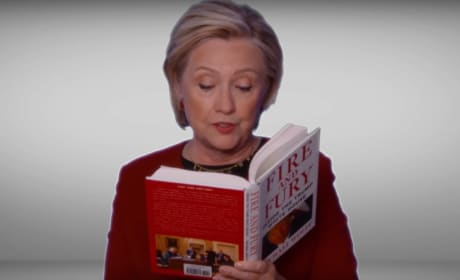 Hillary Clinton Reads Fire & Fury