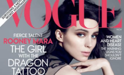 The Girl With the Dragon Embroidery: Rooney Mara Covers Vogue