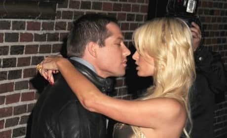 Cy Waits and Paris Hilton Pic