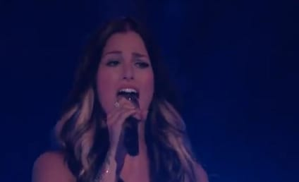 Cassadee Pope Debuts New Song on The Voice Results Show