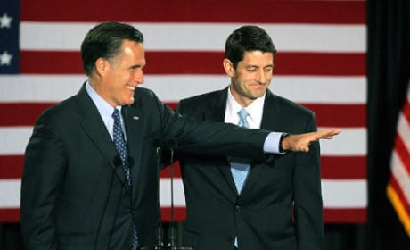 Paul Ryan, Mitt Romney