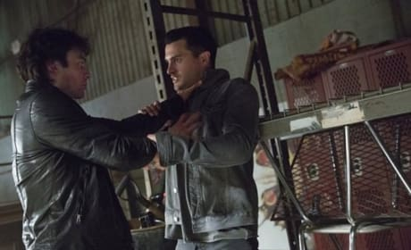 Damon and Enzo Fight to the Death