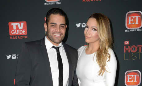 Mike Shouhed and Jessica Parido: TV Guide Magazine's 2013 Hot List Party