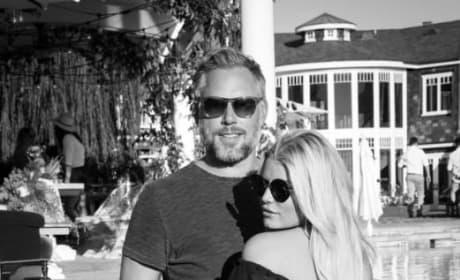 Jessica Simpson, Eric Johnson Instagram Photo
