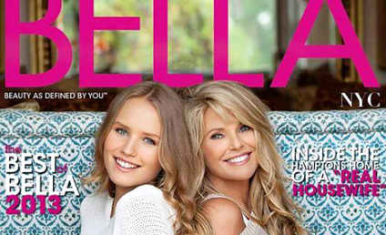 Christie Brinkley, Daughter Sailor Pose For Bella Magazine Cover
