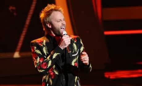 Paul McDonald on American Idol