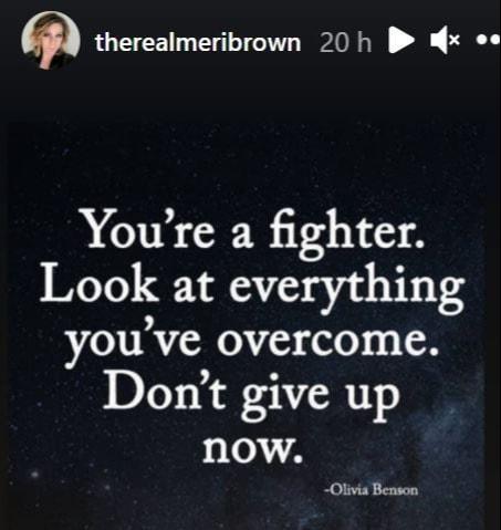 Never. Stop. Fighting.