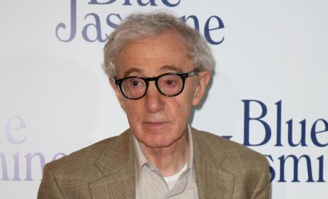 Woody Allen Photograph