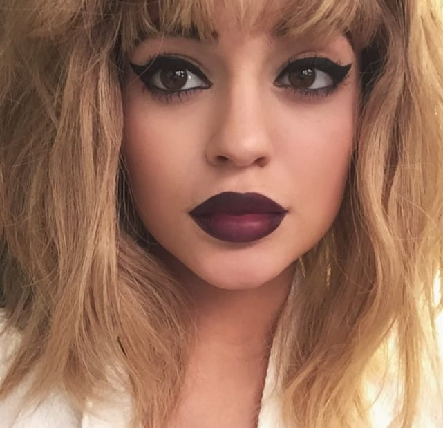 Kylie Jenner as a Blonde