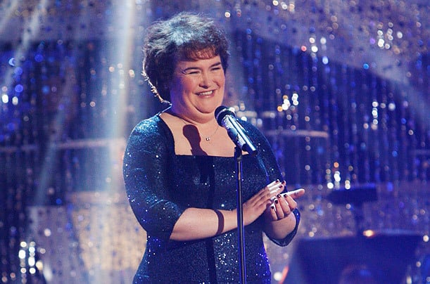 Susan Boyle Wows the Crowd