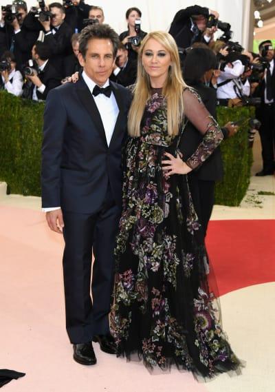 Ben Stiller and Christine Taylor: 2016 Costume Institute Gala