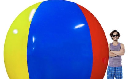 Amazon Customer Gives Beach Ball 2-Star Rating, Explains Why