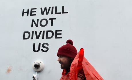 Shia LaBeouf Protests
