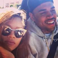 Rihanna and Chris Brown Instagram