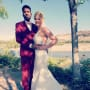 Ashley martson and jay smith wedding day photo