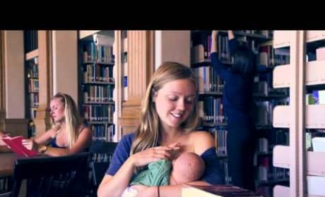 Students Support Breastfeeding Via Call Me Maybe Cover
