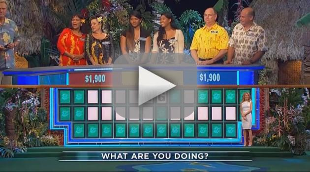 Pat Sajak Walks Off Wheel of Fortune Set
