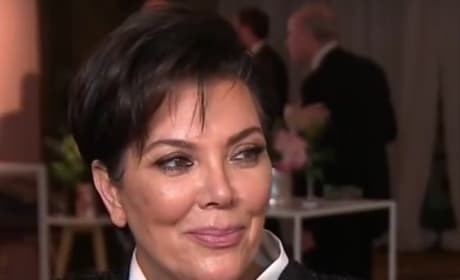 Kris Jenner, Satisfied Smile