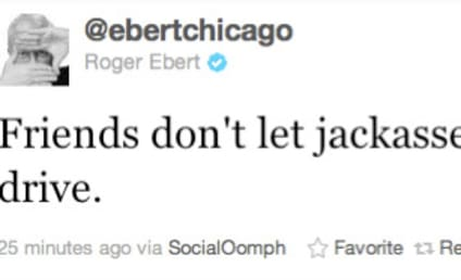 Roger Ebert Slams Ryan Dunn on Twitter