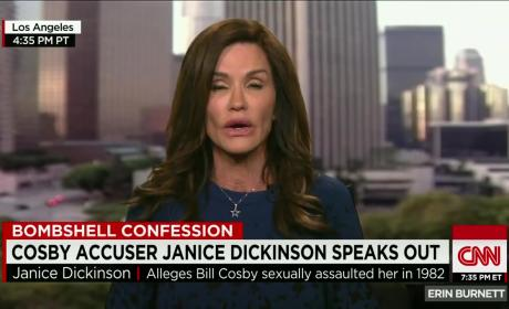 Janice Dickinson on Bill Cosby: I'm Embarrassed For His Fans!