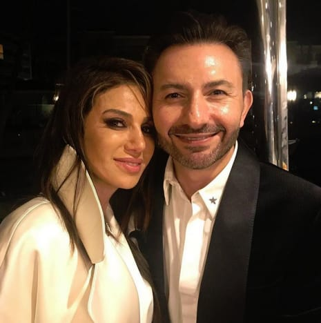 Peggy Sulahian and Husband Diko