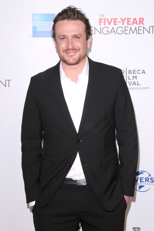 Jason Segel Movie Premiere Pic