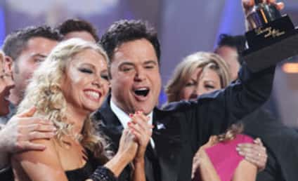 Donny Osmond Crowned Dancing with the Stars Champion
