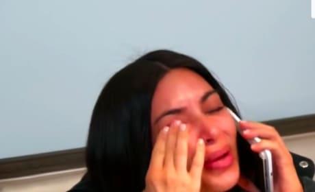 Kim Kardashian Totally Breaks Down