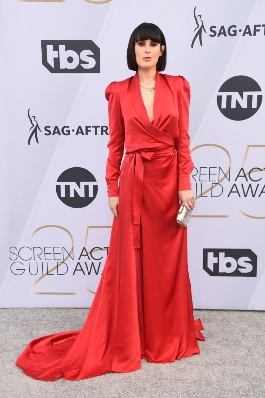 Rumer willis at the sags