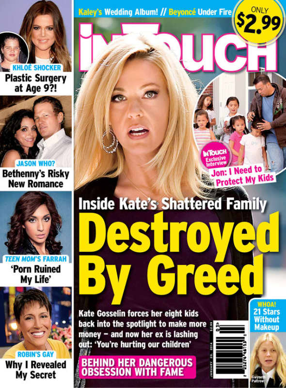 Kate Gosselin: Destroyed by Greed!