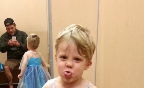 A Boy as Elsa