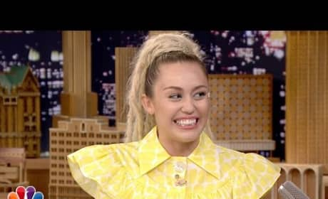 Miley Cyrus Gives Emotional Interview on Jimmy Fallon